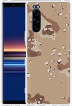 Sony Xperia 5 Hoesje Army Desert Camouflage