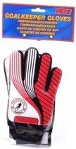Johntoy - Keepershandschoenen - Kinderen - Maat S - Rood/Zwart