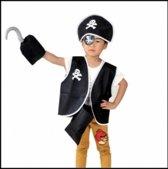 694189825de Image of 5-delig piratenset - jongens - meisjes - verkleedkleding - one  size (