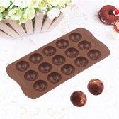 Kitchen Princess - Siliconen Chocoladevorm Emoji Smilies - Fondant Bonbonvorm