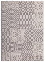 Kayoom - Vloerkleed - Lina 300 - Taupe/Multi - 160x230cm