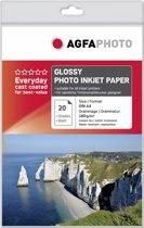 A4 AgfaPhoto Foto Papier 180gr. 20v. Glans