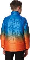 Regatta Icebound IV Jas Kinderen oranje/blauw Kindermaat 152 | 11-12Y