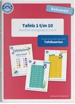 Rekenen Tafels 1 t/m 10 Tafelkaarten