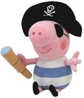 Ty Peppa Pig George Pirate 23cm