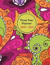 Three Year Planner 2019 - 2021 Ari
