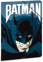 Batman - elastomap - A4 - Zwart