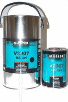 Mammoet Coatings - Master Troton V2007 HS Acrylic Grondlak Set 4+1L Zwart
