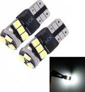 2 STKS T10 5 W SMD 2835 9 LED Auto Ontruiming Lichten Lamp, DC 12 V (Wit Licht)