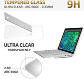 DrPhone - Microsoft Surface Book / Surface Book 2 - Tempered Glass Protector - Arc Edge (13 inch)