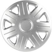 Wieldoppen 15 inch - Master zilver - 4 stuks