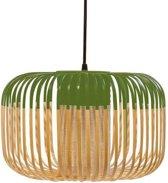 Forestier Bamboo Light Hanglamp Small Groen