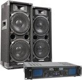 SkyTec MAX28 met SPL1000 versterker - 1000W complete installatie
