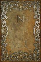Monogram N Notebook