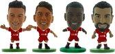 Soccerstarz voetbalpoppetjes LIVERPOOL 4-pack ⚽ Philippe Coutinho ⚽ Roberto Firmino ⚽ Georginio Wijnaldum ⚽ Mohamed Salah