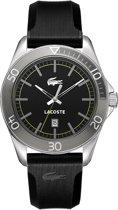 Lacoste horlogeband 2010509 / LC-31-1-27-2232 Rubber Zwart 22mm