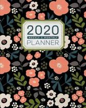 Floral Fresh - Planner 2020 - Weekly and Monthly Diary: January to December 2020 - Organizer, Diary and Calendar Schedule with Inspirational Quotes