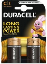 Duracell 2 LR14 C Single-use battery Alkaline