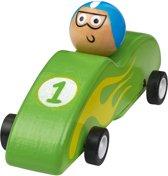 Moses Houten Racewagen 11,5 Cm Groen