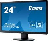 iiyama ProLite E2482HS-B1 computer monitor 61 cm (24'') 1920 x 1080 Pixels Full HD LED Flat Mat Zwart