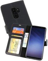 Rico Vitello Zwart Echt Leder Hoesje Galaxy S9 Plus