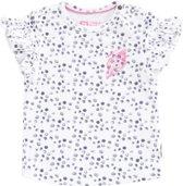 Tumble 'n dry Meisjes T-shirt Emmalijn - Paper White - Maat 86