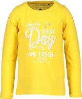 Blue Seven Meisjes T-shirt - geel - Maat 116
