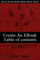Create An EBook Table Of Contents in Microsoft Word