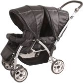 Kees Loop 2 Go - Tweelingtandem - Black