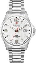 Swiss Military Hanowa 06-5277.04.001 horloge heren - zilver - edelstaal
