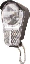 Spanninga Galeo - Koplamp Fiets - Batterij - LED - Zwart