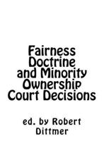 Fairness Doctrine and Minority Ownership Court Decisions