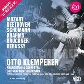 Mozart, Beethoven, Schumann, Brahms, Bruckner, Debussy