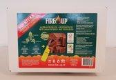 Fire-Up Aanmaakblokjes 400 stuks met gratis aansteker