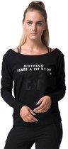 Body & Fit Sportswear Nova Sweat Round Neck - Sportshirt - Black - XL