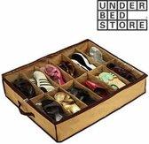 DisQounts Under Bed Store Shoe Organiser