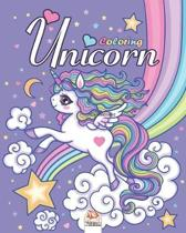 Unicorn: Coloring Book For Children 4 to 12 Years