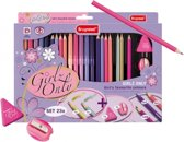 Bruynzeel Stift/Poltlood Girlz Only Set