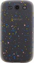 Xccess Cover Spray Paint Glow Samsung Galaxy S3 I9300 Blue