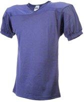 MM American Football Trainings Shirt - Navy Blauw - XX-Large