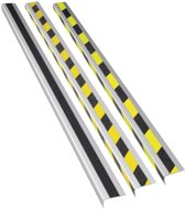 Anti slip trapprofiel  800 x 31 x 53 mm Geel / Zwart