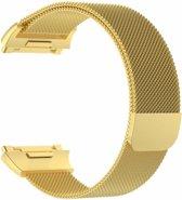 Fitbit Ionic Luxe Milanees bandje |Goud / Gold| Premium kwaliteit | Maat: M/L | RVS |TrendParts