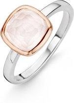TI SENTO Milano Ring 12063LP - Maat 56 (17,75 mm) - Gerhodineerd Sterling Zilver