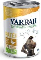 Yarrah dog blik pate met kip hondenvoer 400 gr