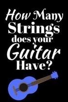 How Many Strings Does Your Guitar Have?