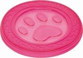 Nobby TPR frisbee poot roze - 22 cm
