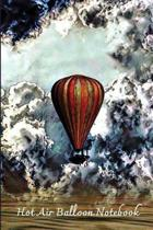 Hot Air Balloon Notebook