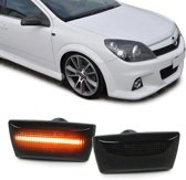 Knipperlicht zijkant LED zwart Opel Astra H Corsa D Zafira B Insignia