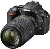 Nikon D5500 + 18-105mm VR Spiegelreflexcamera - Zwart