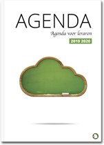 Lerarenagenda / docentenagenda  2017-2018 Hardcover Cloud